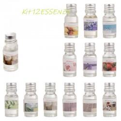 Esencias perfumadas 12 piezas