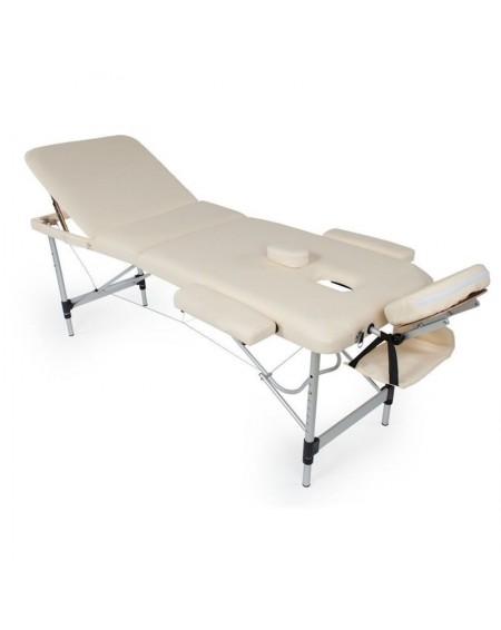 lettini per massaggi in alluminio